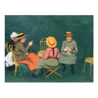 Felix Vallotton - The women Postcard