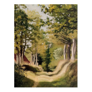 Felix Vallotton - Undergrowth Postcard