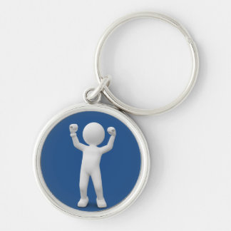 Felix Weissmanns of the winners 2015 Silver-Colored Round Key Ring