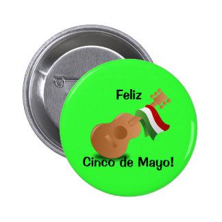 Feliz Cinco de Mayo! 6 Cm Round Badge