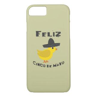 Feliz Cinco De Mayo Chick iPhone 7 Case