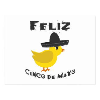 Feliz Cinco De Mayo Chick Postcard