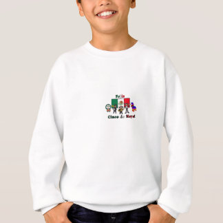 Feliz Cinco de Mayo! Holiday Cartoon Illustration Sweatshirt