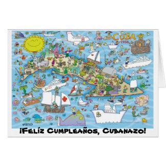 ¡Felíz Cumpleaños, Cubanazo! Card