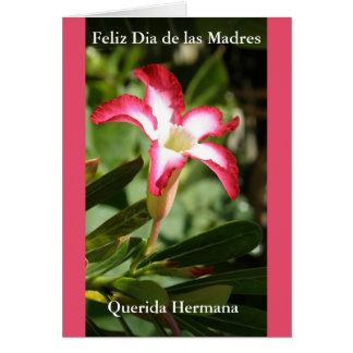 Feliz Dia de las Madres Querida Hermana Card