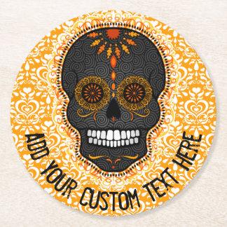 Feliz Muertos - Custom Sugar Skull Coasters