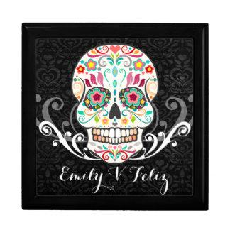 Feliz Muertos - Custom Sugar Skull Keepsake Box
