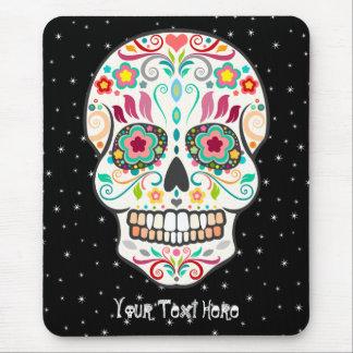 Feliz Muertos - Custom Sugar Skull Mousepad