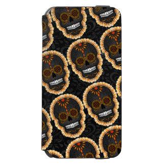 Feliz Muertos - Festive Sugar Skull Pattern Incipio Watson™ iPhone 6 Wallet Case