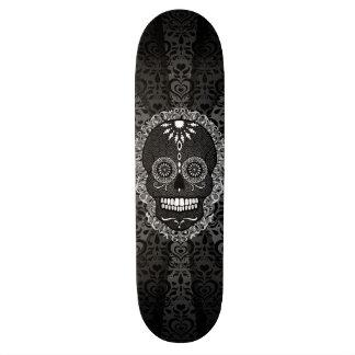 Feliz Muertos - Festive Sugar Skull Skate Board