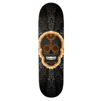 Feliz Muertos - Festive Sugar Skull Skateboards