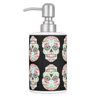 Feliz Muertos - Happy Sugar Skull Pattern Bath Set