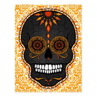 Feliz Muertos - Happy Sugar Skull Postcard