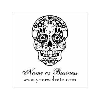 Feliz Muertos Personalized Text Self Inking Stamp