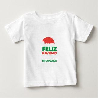 Feliz Navidad Bitchachos Baby T-Shirt