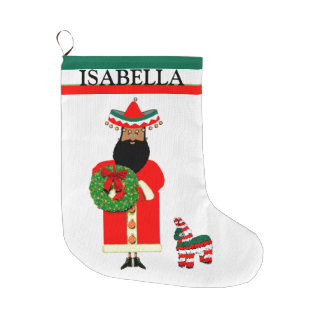feliz Navidad Large Christmas Stocking