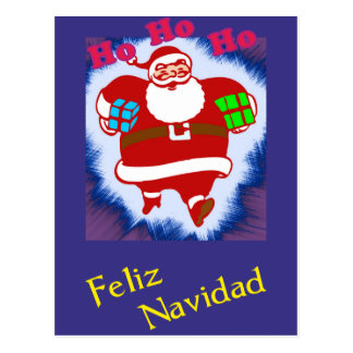 Feliz Navidad Papá Noel Postcard