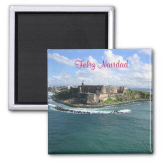 Feliz Navidad Puerto Rico magnet