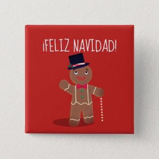 """Feliz Navidad"" Spanish Button"