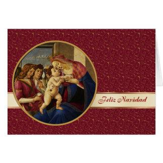 Feliz Navidad. Spanish Fine Art Christmas Card