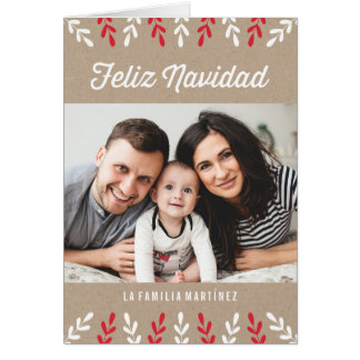 Feliz Navidad | Tarjeta de Navidad Card