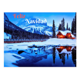 Feliz Navidad Tarjeta Postal Postcard