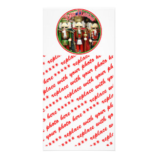 Feliz Navidad - Three Wise Crackers Personalized Photo Card