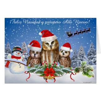 ¡Feliz Navidad y próspero Año Nuevo! Card