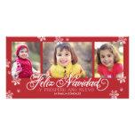 Feliz Navidad Y Próspero Año Nuevo Photo Cards