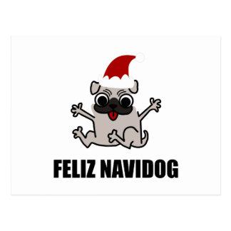 Feliz Navidog Postcard