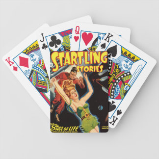 Fell Out of a Spaceship Bicycle Playing Cards