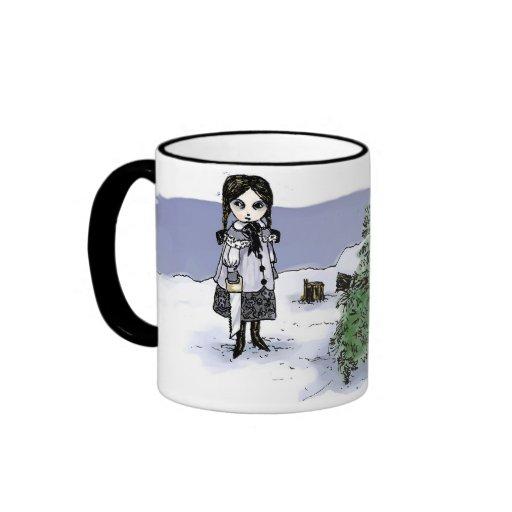 Felling the Holiday Tree Ringer Mug