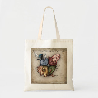 Fellowship of Fantasy Logo Tote
