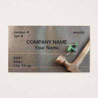 felt nails on roofing felt business card