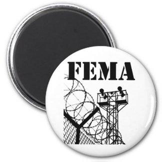 FEMA  Camps 6 Cm Round Magnet