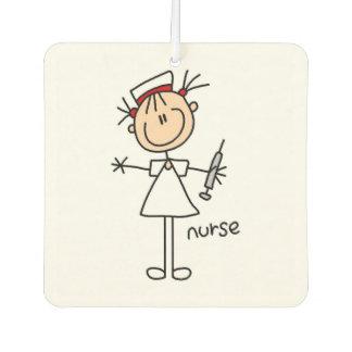 Femal Stick Figure Nurse Air Freshner