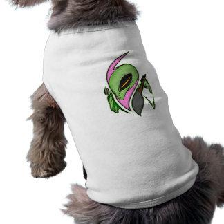 Female Alien Artist Sleeveless Dog Shirt