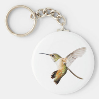 Female Allen's Hummingbird Keychain