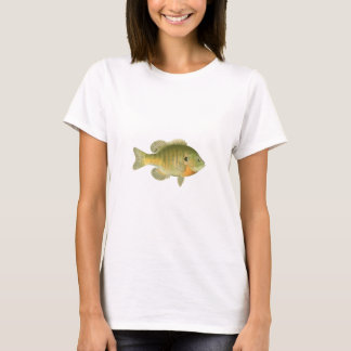 Female Bluegill - Bream - Sunfish T-Shirt