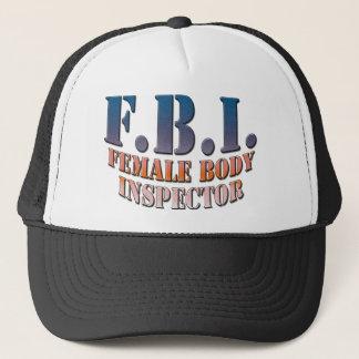 Female_Body_Inspector copy Trucker Hat