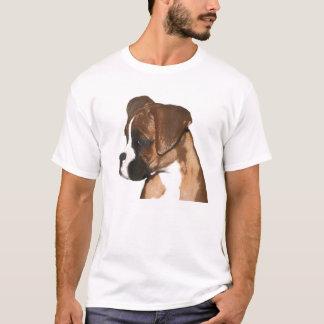 Female boxer pup t-shirt