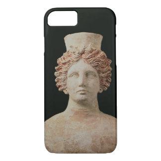 Female bust with kalathos from Ibiza, 5th century iPhone 7 Case