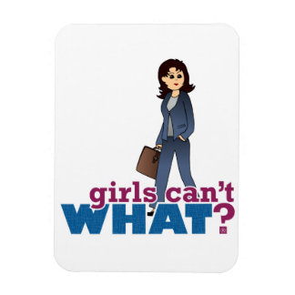 Female CEO Rectangular Magnet