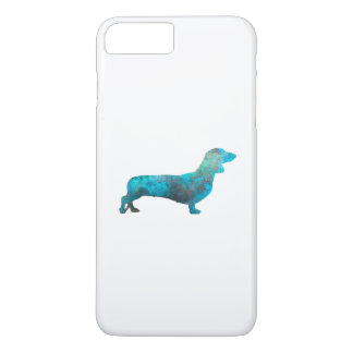 Female Dachshund in watercolor iPhone 7 Plus Case