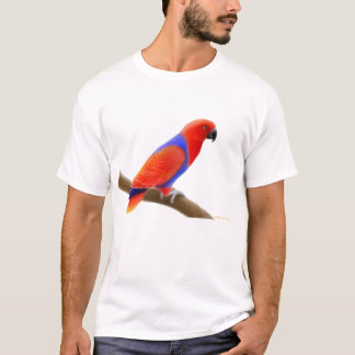 Female Eclectus Parrot T-Shirt