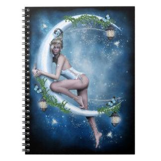 Female Elf Moon Notebook