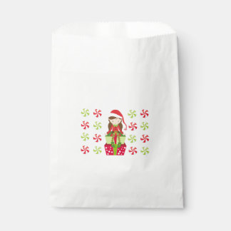 Female Elf with Candies Favour Bag
