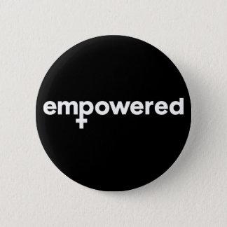 Female Empowerment Badge Pin Button