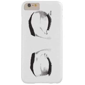 Female Eyes Sketch (Customizable) Barely There iPhone 6 Plus Case