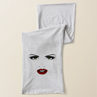 Female Face Scarf